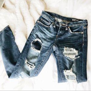Blank NYC skinny crop jeans